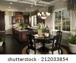 dining room architecture stock... | Shutterstock . vector #212033854