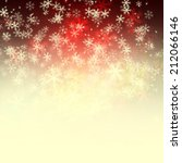 winter delightful snowfall... | Shutterstock . vector #212066146