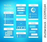 user interface template design...