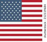 american flag pattern | Shutterstock .eps vector #212119684
