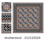 vintage square paving tiles...