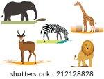 Title  Africa Safari Animals...