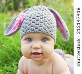 Portrait Of A Baby In The Hat...