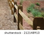 Wooden Fence Close Up