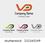 vd  idea vd symbol vector | Shutterstock .eps vector #212165149