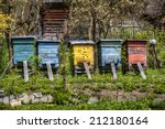 Beehives In The Village Of...