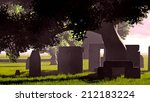 Sacred Tombstones In The...