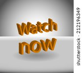 beautiful watch web icon | Shutterstock .eps vector #212196349