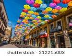 madrid spain 25 july 2014 ... | Shutterstock . vector #212215003