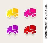 realistic design element  car ... | Shutterstock .eps vector #212215336