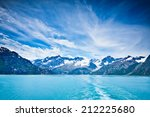 glacier bay in mountains in... | Shutterstock . vector #212225680