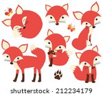 so foxy | Shutterstock .eps vector #212234179