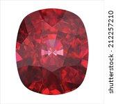 ruby  citrine | Shutterstock .eps vector #212257210