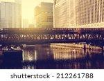 chicago downtown | Shutterstock . vector #212261788