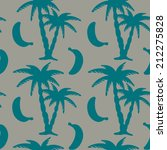 seamless pattern with... | Shutterstock . vector #212275828