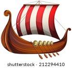 Illustration Of A Viking's Shi...