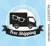 free shipping | Shutterstock .eps vector #212325796