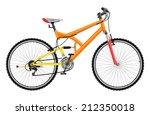 two suspension mountain bike  ... | Shutterstock .eps vector #212350018