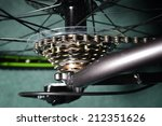 bicycle gears  cogs and chain. | Shutterstock . vector #212351626