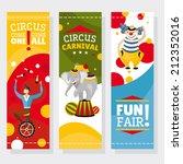 funfair banners vector... | Shutterstock .eps vector #212352016