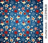 sketchy stars seamless repeat... | Shutterstock .eps vector #212398828