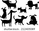 dog | Shutterstock .eps vector #212405089