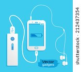 vector gadgets  flat icon...   Shutterstock .eps vector #212437354