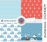 vector illustration of a set of ... | Shutterstock .eps vector #212443879