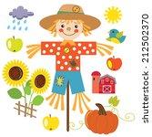 fall vector illustration   Shutterstock .eps vector #212502370