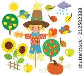 fall vector illustration   Shutterstock .eps vector #212502388