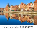 cityscape of gdansk in poland   Shutterstock . vector #212503870