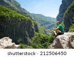 peaceful meditation ...   Shutterstock . vector #212506450