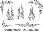 pinstripe graphics   vinyl ready | Shutterstock .eps vector #212507800