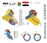 infographics  governorates od... | Shutterstock .eps vector #212508358