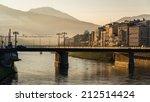 salzach river  salzburg  austria | Shutterstock . vector #212514424