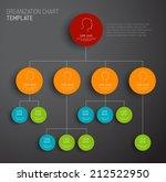 vector modern and simple dark... | Shutterstock .eps vector #212522950