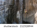 Rappelling Waterfalls In...