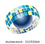 digital communication - stock vector