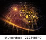 particle geometry series.... | Shutterstock . vector #212548540