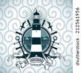 label with a picture of the... | Shutterstock .eps vector #212561956