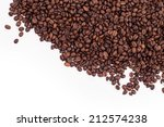 Coffee Beans Isolated On A...