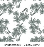 coconut trees are wonderfully... | Shutterstock .eps vector #212576890
