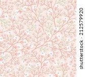 vector floral seamless pattern...   Shutterstock .eps vector #212579920