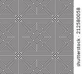 ethnic modern geometric... | Shutterstock .eps vector #212580058