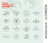 set of badges and labels... | Shutterstock .eps vector #212588206