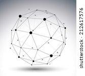 3d vector abstract technology... | Shutterstock .eps vector #212617576
