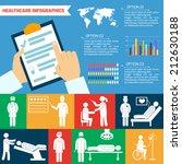 medical healthcare infographic... | Shutterstock .eps vector #212630188