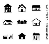 house icon | Shutterstock .eps vector #212637196