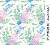 seamless pattern   simple... | Shutterstock . vector #212643274
