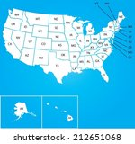 an illustration of map of the... | Shutterstock .eps vector #212651068